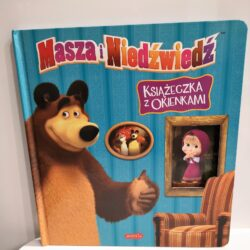 Masza i Niedźwiedź książeczka z okienkami