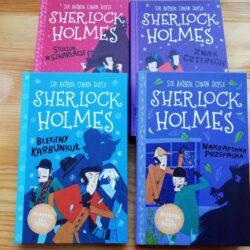 Błękitny Karbunkuł i Nakrapiana przepaska – Sherlock Holmes dla dzieci
