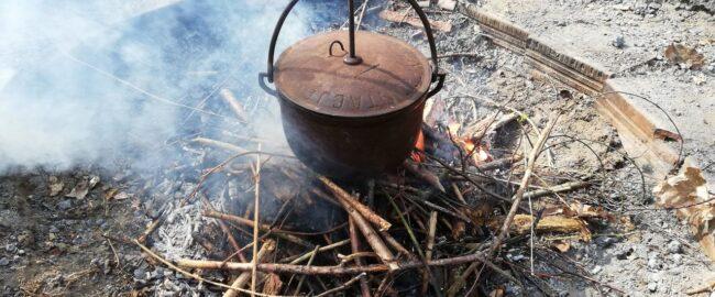 Damfoki, czyli śląska zapiekanka prosto z ogniska