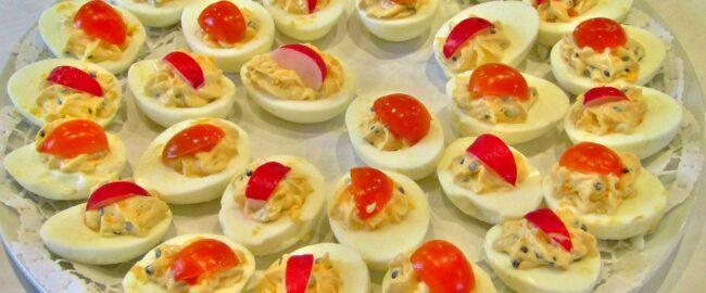 Jajka faszerowane – moje pomysły i fantazje