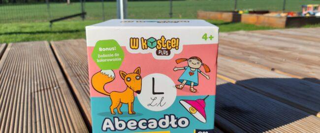 Abecadło – szybka gra edukacyjna dla przedszkolaków od Albi