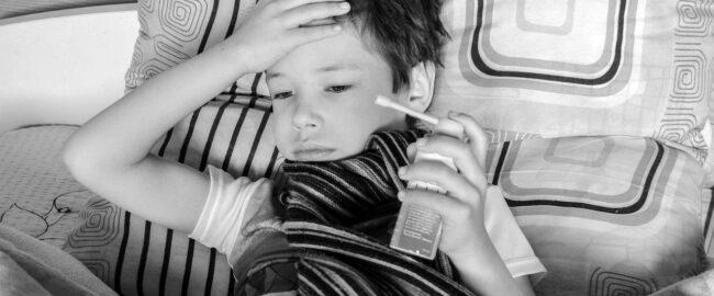 Dzieci często chorują. Najczęściej to prawidłowe