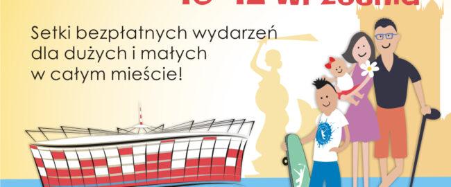 Warszawskie Dni Rodzinne – weekend bezpłatnych wydarzeń dla rodzin